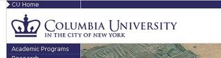 Columbia University - In the city of New York